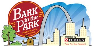 Bark in the Park logo for HSMO's biggest event and fundraiser