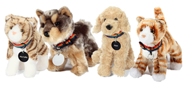 FurEver Friends Sponsorship Plush dogs and cats