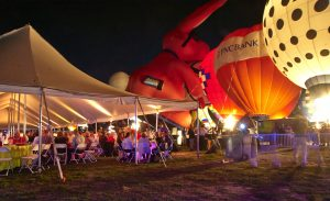Glow in the Park balloons 2014