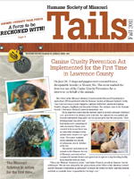 Tails Magazine Cover fall 2011