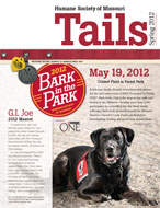 Tails Magazine Cover spring 2012