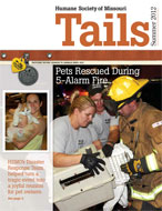 Tails Magazine Cover Summer 2012