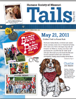 Tails Magazine Cover spring 2011