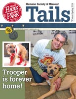 Tails Magazine Cover spring 2014