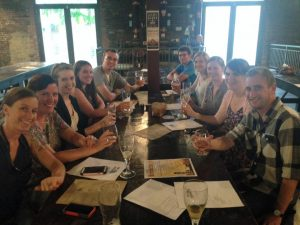Young Friends group at Urban Chestnut